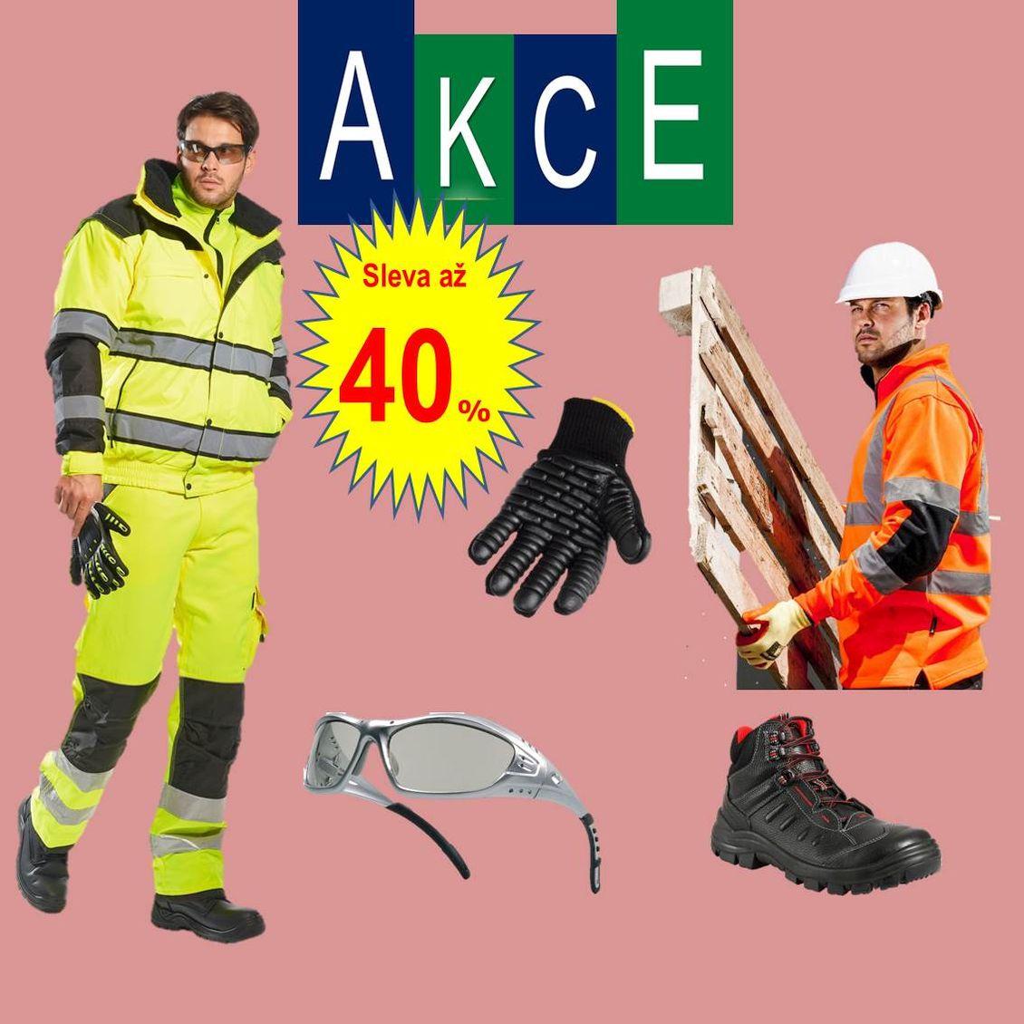 Takos® - Černý pátek až 40 % na pracovní oděvy a ochranné pracovní prostředky