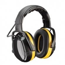Mušlové chrániče sluchu temeno SECURE 2H ACTIVE černo/žluté