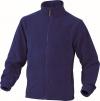 Mikina Delta Plus VERNON polar fleece zapínání na zip královská modrá