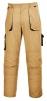Montérkové kalhoty TEXO Contrast do pasu khaki/černé