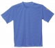 Triko ESD antistatické BA/uhlík kulatý průkrčník krátký rukáv štítek s normou modré