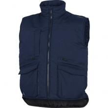Vesta SIERRA 2 NEW s kapsami u pasu i na prsou zateplená tmavě modrá