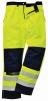 Kalhoty BIZFLAME MULTI do pasu antistatické elektroodolné nehořlavé výstražné svítivě žluté/tmavě modré velikost L