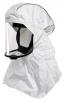 Dýchací kukla FLOWHOOD FH21 antistatická bez hadice pro Proflow, Tornado, Duraflow, Spirit bílá