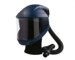 Kukla dýchací Sudström SR 540 nastavitelný kříž pevný zorník v rámu ochrana čela tmavě modrá