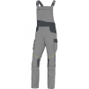 Montérkové kalhoty MACH CORPORATE NEW PES/BA lacl světle šedá / tmavě šedá velikost XL