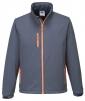 Softshellová bunda TEXO TRIPLE DRY Membrána šedo/oranžová