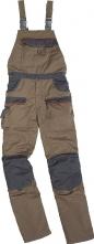 Montérkové kalhoty MACH CORPORATE laclové béžovo/šedé velikost S
