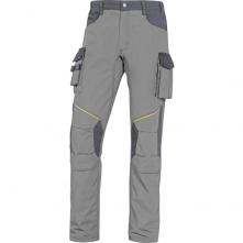 Montérkové kalhoty DELTA MACH CORPORATE NEW do pasu PES/BA světle šedé/tmavě šedé