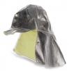 Potah na přilbu s ochranou týla K-370 tepluodolný stříbrný
