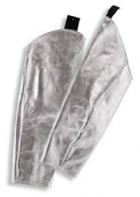 Rukávník tepluodolný K-370/Abz. s elastickým okrajem délka 600 mm stříbrný