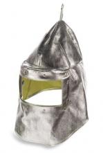 Kukla slévačská K-370 průzor 100 x 220 mm pokovená krátká na krk stříbrná