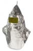 Kukla slévačská Preox/Kevlar PR 400AFT průzor 100x220mm pokovená dlouhá na prsa stříbrná