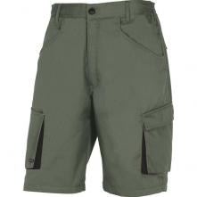 Montérkové kraťasy Bermuda MACH 2 PES/BA šikmé kapsy zeleno/černé velikost L