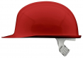 Přilba VOSS PCG LD MM HH 1000 V rovný kšilt materiál polykarbonát se skelnými vlákny pro horké provozy červená