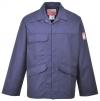 Ochranná pracovní blůza BIZFLAME PRO antistatická nehořlavá tmavě modrá velikost L
