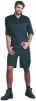 Kraťasy CXS Sirius Elias pracovní zesílené krátké kalhoty PES/BA šedo/zelené