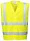Ochranná výstražná vesta FR71 antistatická nehořlavá reflexní pruhy žlutá