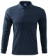 Polokošile Single Jersey 180 dlouhý rukáv tmavě modrá velikost XL