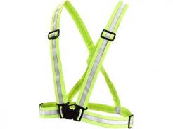 Kříž výstražný WOTA elastický reflexní HV žlutý