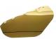 Zorník UHLEN polykarbonát pozlacený zelený základ stupeň 5 na přilbu s držákem FH66