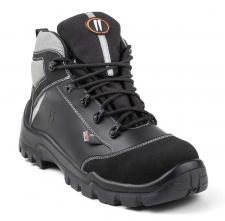 Obuv HOT PEPPER S3 COMPOSITE AN HI CI SRC kotníková ochrana kotníku černo/šedá