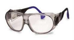 Brýle UVEX Cosmoflex šedý rám nepoškrábatelné sklo UV filtr čiré