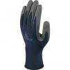 Rukavice DELTA SAFE & STRONG nylonový úplet 13 Silicone DMF Free potažené PU šedo/modré