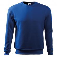 Mikina Essential 300 pánská BA/PES elastický úplet manžety průkrčník spodní lem středně modrá