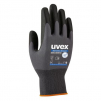 Rukavice Uvex Phynomic Allround úplet nylon/elastan potažený prodyšným polymerem šedo/černé