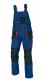 Montérkové kalhoty CERVA EMERTON s laclem PES/BA zesílená kolena množství kapes tmavě modré/středně modré