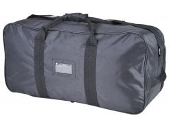 Taška cestovní PW 70 x 35 x 23 cm objem 65 litrů PES/PVC zesílené uši popruh přes rameno černá
