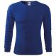 Tričko Fit-T LS bavlna 160g dlhý rukáv pánske středně modrá