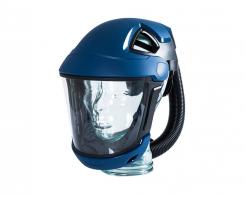 Kukla dýchací Sudström SR 570 nastavitelný kříž pevný zorník v rámu ochrana čela tmavě modrá