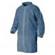 Plášť SAM materiál netkaný PP zapínání suchý zip bez kapes stojáček modrý