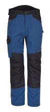 Kalhoty PW WX3 do pasu PES/BA 280g strečový materiál trojité šití přídavné kapsy modro/černé
