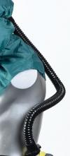 Hadice dýchací PU Fix k FH1/2/21/22/3/31/5/51 připojení k jednotkám TORNADO, PROFLOW, DURAFLOW černá