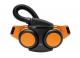 Filtroventilační dýchací jednotka Sundström SR 500 EX s opaskem baterií nabíječkou oranžová