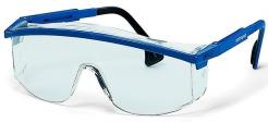 Brýle UVEX ASTROSPEC Supravision Saphire modro/černý rámeček velkoplošný zorník nepoškrábatelné čiré