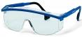 Brýle UVEX ASTROSPEC Supravision Saphire modro/černý rámeček velkoplošný zorník nemlživé nepoškrábatelné čiré
