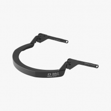 Držák štítu Hellberg EPOK SAFE2 nylonový na standardní přilbu s rovným kšiltem černý