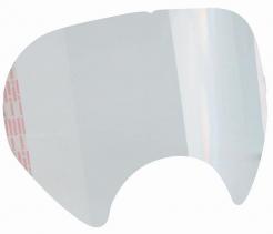 Folie na celoobličejovou maska 3M 6000 samolepící originální tvarovaná dle zorníku balení 25 ks cena za ks čirá