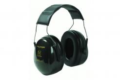 Mušlové chrániče sluchu 3M PELTOR OPTIME II H520A-407-GQ s hlavovým obloukem SNR 31 černé