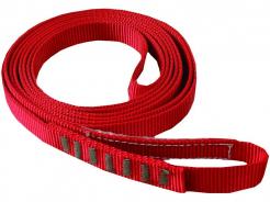 Slučka CXS AZ 900 kotevní vázací polyamidový popruh o šířce 20 mm sešitý do kruhu délka 1,2 m červená