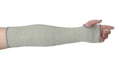 Rukávník PW CUTY materiál úplet HPPE protiřezný stupeň D tepluodolný délka 45 cm šedý