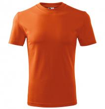 Tričko Malfini Heavy 200 bavlna 100 % kvalitní bavlněný materiál kulatý průkrčník oranžové