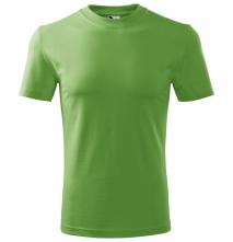 Tričko Malfini Heavy 200 bavlna 100 % kvalitní bavlněný materiál kulatý průkrčník trávově zelené