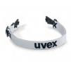 Pásek pro upevnění brýlí UVEX Pheos textilní guma nastavitelný šedý