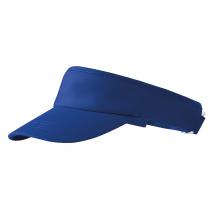 Kšilt Malfini SUNVISOR bavlna froté potní pásek nastavitelný sponou podšívka královský modrý