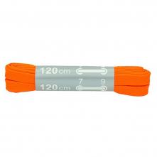 Tkaničky SITIL FLAT 380/130 100% PES široké 15 mm délka 120 cm svítivě oranžové